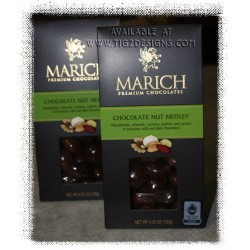 Marich Chocolate Nut Medley - Gable Box
