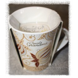 H&H Bone China Mugs - Special Grandma