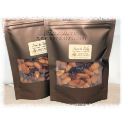 Sweet & Salty Almond and Cranberry Mix - 125g