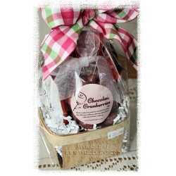 Chocolate Covered Fruit Basket - Creston Gift Baskets