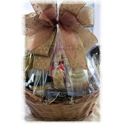 Gourmet Delights - Sweet & Savory Gift Basket
