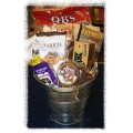 Man Den Sweet Bucket Gift Basket