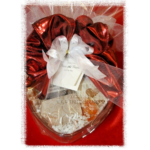 Sugar free from the heart gift basket negle Images