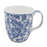 McIntosh Fine Bone China - Pretty Chintzy Java (or Tea) Mugs