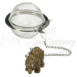 "Bear 2"" Mesh Tea Ball - 18/8 Grade Stainless Steel"