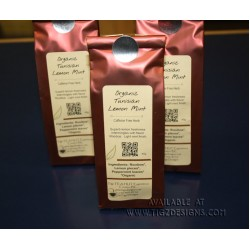 Organic Tunisian Lemon Mint Rooibos Loose-leaf Tea - BC Luxury Teas