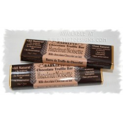 Barkleys Chocolate Truffle Bar - Hazelnut - Made in BC