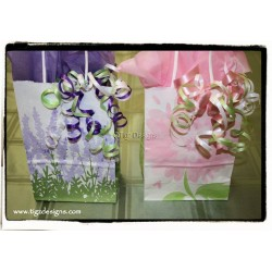"""Custom"" Small Gift Bag with Ribbons & Tissue - Tigz Designs Creston BC"