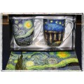 McIntosh Fine Bone China - Van Gogh Starry Nights Mug Pair