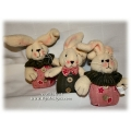 Stuffed Bunnies for Gift Baskets