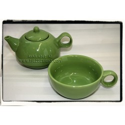 Tea for One Teacup / pot set - Mojito Lime