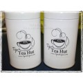 Tigz TEA HUT Tea Tin - 50g White