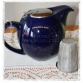 Clipper Teapot with Build in Strainer - Blue 5-6 Cup