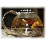 Flowering Artisan Tea - 3 Flower Burst - Tigz Tea Hut, Creston BC