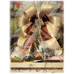 Christmas Treasures Gift Basket - Just for Her