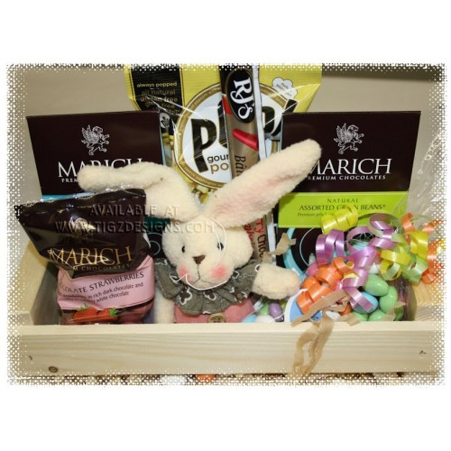 Sweet lil bunny gift basket easter basket delivery in creston bc negle Images