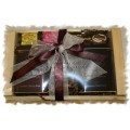 Tea and BC's Barkleys Natural Chocolate - Shipper style Gift Baskets