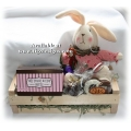 Bunny Gift Basket - Gourmet Candy Delight
