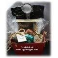 Chocolate, Tea & Candlelight Gift Basket