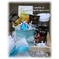 Chillin Tea & Flowers Gift Basket - Gift Baskets by Tigz Designs