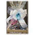 Wedding Shower Bubbles & Bliss Gift Basket - Gift Baskets by Tigz Designs