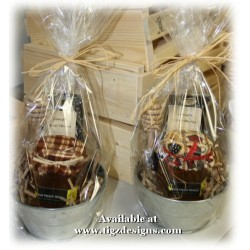 Creston Honey & Tea Mini Gift Basket