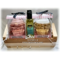 Bubbles & Bliss Gift Basket - by Tigz Designs