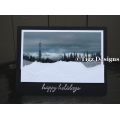 Christmas in the Kootenays Greeting Card - Kootenay Pass