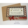 Custom Christmas Cards - For Wife - 09
