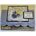 Nature's Scribbles & Stains Greeting Cards by Tigz Designs