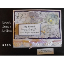 Nature's Stains & Scribbles Greeting Cards - SS5