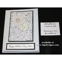 Mother's Day Greeting Cards 08 - Nature's Stains & Scribbles
