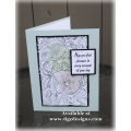 Nature's Stains & Scribbles Birthday Card - handmade in BC