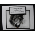 Dog Get Well Greeting Cards - Bear
