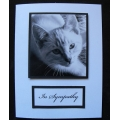 Pet Sympathy Card - Snuffles