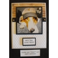 Funny Dog Greeting Card - Keta 47
