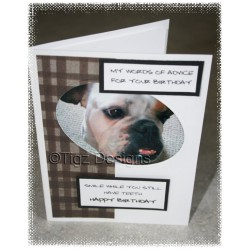 Dog Birthday Card - Made in BC