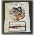 Cat Birthday Card - Snuffles 55
