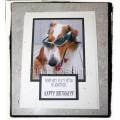 Dog Comical Birthday Greeting Card - Keta 2014