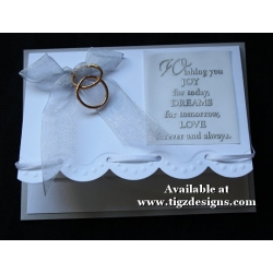 Wedding Greeting Cards  by Tigz Designs