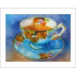 "Teacup Notes - by Creston artist Laura Leeder  ""Lord Aynsley"""
