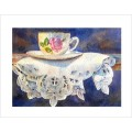 "Teacup Notes - by Creston artist Laura Leeder ""Miss Etiquette"""