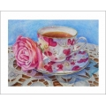 "Teacup Notes - by Creston Artist Laura Leeder ""The Power of Pink"""
