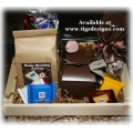 Chocolates & Coffee Gift Basket - Gift Baskets by Tigz Designs